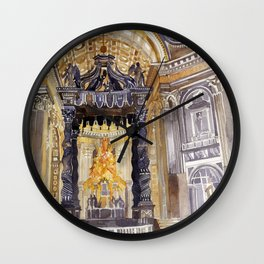Saint Peter interior Wall Clock