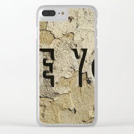 see you Clear iPhone Case