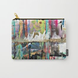Colorful Bohemian Abstract 3 Carry-All Pouch