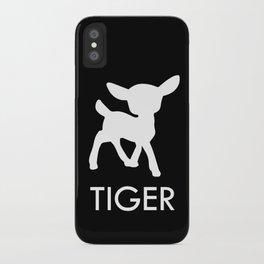 Bambi Tiger iPhone Case