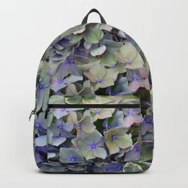 Soft Multi Color Hydra and Ivy leaves Backpack