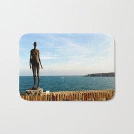 Picasso Museum Statue - Antibes Bath Mat