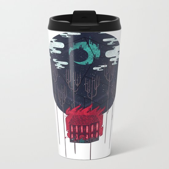 The Most Beautiful Night of All Metal Travel Mug