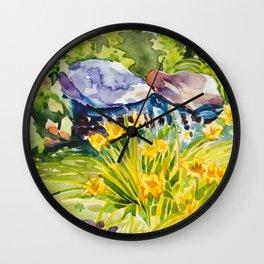 Quiet Retreat Wall Clock