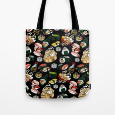 Sushi Black Tote Bag