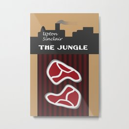 The Jungle by Upton Sinclair Metal Print
