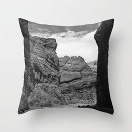 Buckskin Gulch, Utah Desert Slot Canyon Throw Pillow