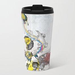 CMYsKull Metal Travel Mug