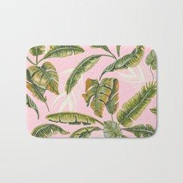 Banana leaf party Bath Mat