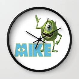 Monster Mike Wall Clock