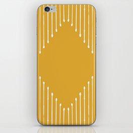 Geo / Yellow iPhone Skin