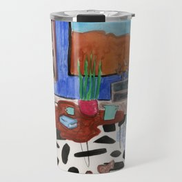 Mid Century Desert Home Travel Mug