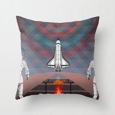 Space Tourism  Throw Pillow