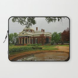 Morning At Monticello - Jeffersons Home Laptop Sleeve