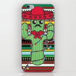 Christmas Nopal iPhone Skin