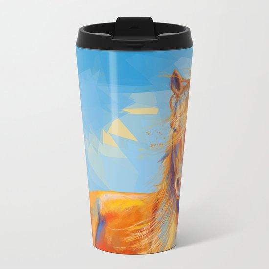 Obedient Spirit Metal Travel Mug