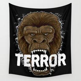 Terror Monkey | Rampage Gorilla Wall Tapestry