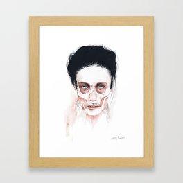 Deep cuts Framed Art Print