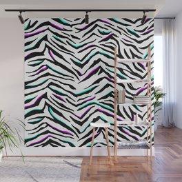 Zazzy Zebra Animal Print Wall Mural