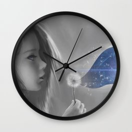 The Wish Wall Clock