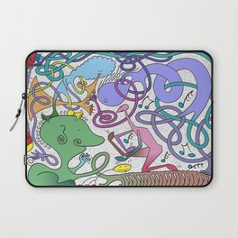 Mr Squiggly Ragamuffin Band Laptop Sleeve