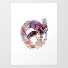 Ouroboros Lapine Art Print