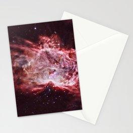 Flame Nebula Stationery Cards