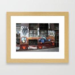Hosier Lane 2 Framed Art Print