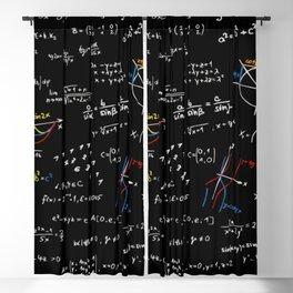 Math Equation Blackout Curtain