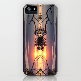Tangerine trees iPhone Case