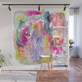 Colorful Chaos Wall Mural