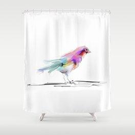 cute bird2 Shower Curtain