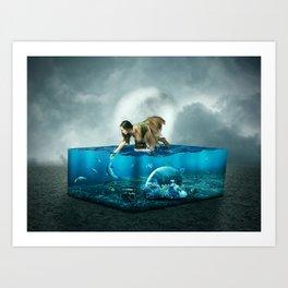 The lost Aquarium Art Print