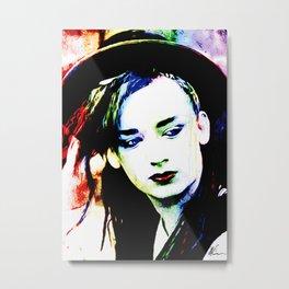 Boy George - Karma Chameleon - Pop Art Metal Print