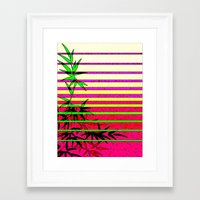 bamboo Framed Art Prints featuring Bamboo by Mr and Mrs Quirynen