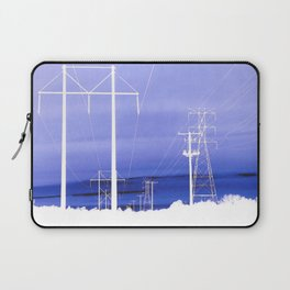 Electric blues Laptop Sleeve