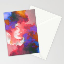 Ciel (Colorful clouds in the sky II) Stationery Cards