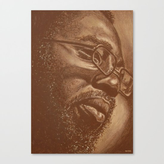 incredible curtis! Canvas Print