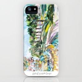 Charleston Pineapple Fountain iPhone Case