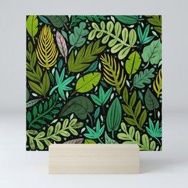 Green Scatter Mini Art Print
