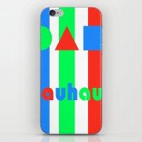 bauhaus iPhone & iPod Skins featuring Bauhaus by Retale