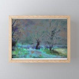 By The Lake Framed Mini Art Print