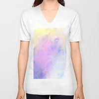 jellyfish V-neck T-shirts featuring Jellyfish by Paul Kimble