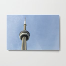 The CN Tower Metal Print
