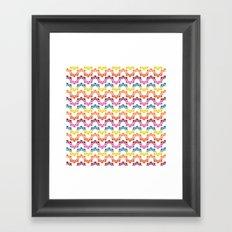 BP 83 Snake Stripes Framed Art Print