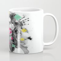 code Mugs featuring Code W by Sitchko Igor