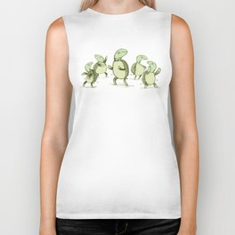 Dancing Turtles Biker Tank