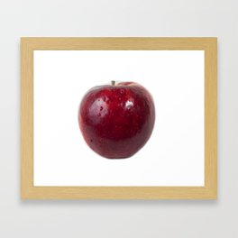 Sweating Apple Framed Art Print