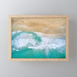 Norway Ocean Shore Framed Mini Art Print