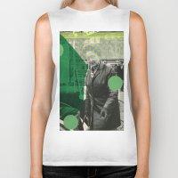 amsterdam Biker Tanks featuring Amsterdam by Naomi Vona